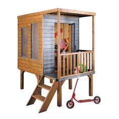 Great Jardipolys Kinder Garten Spielhaus Calao Treppe
