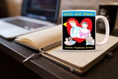 Saints And Sinners, Books, Libros, Book, Book Illustrations, Libri