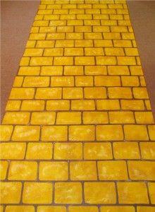 Yellow Brick Road for David Tutera's TV show- created by The Original Runner Company