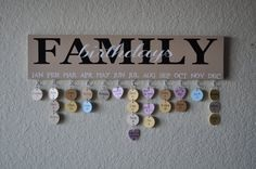 Family Birthday Sign Handpainted and customized with by DesignsMM
