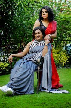 Indian Crossdresser, Two Girls, Crossdressers, Disney Characters, Fictional Characters, Snow White, Sari, Disney Princess, Entertaining