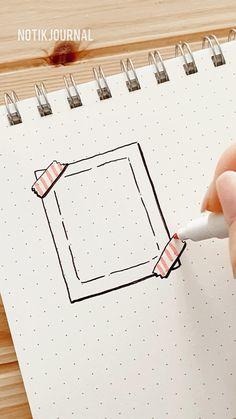 Bullet Journal Paper, Bullet Journal Mood Tracker Ideas, Creating A Bullet Journal, Bullet Journal Lettering Ideas, Bullet Journal Notebook, Bullet Journal Aesthetic, Bullet Journal Ideas Pages, Bullet Journal Inspiration, Hand Lettering Tutorial
