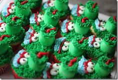 Philly Phanatic Cupcakes with actual directions.  Great for a baseball party!