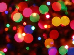 The Best Free Christmas Wallpapers for Your Computer: Holiday Lights by WallpaperStock
