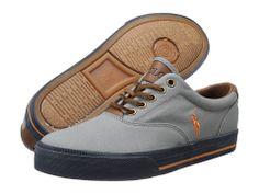 Polo Ralph Lauren Vaughn Muse Grey/Bri Sig Orange/Navy sneakers