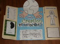Creation Lapbook and other creation activities
