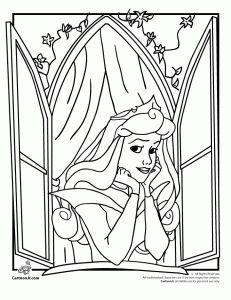 disney princess coloring pa 231x300 sleeping beauty coloring pages