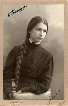 Лена Жуковская. 1911 г.