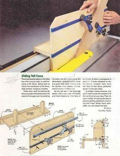 #1982 Table Saw Spline Joint Jig - Joinery