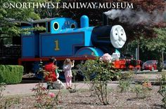 Snoqualmie, Washington.....A full scale, life sized Thomas the Tank Engine visits train museums around the country every summer!  Our daughters loved it as preschoolers!  Northwest Railway Museum, Snoqualmie, Washington (1 hr from Seattle, past Issaquah)