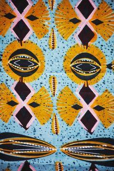 Tela africana Wax de orígen holandesa de alta calidad vendida en karabashop.com
