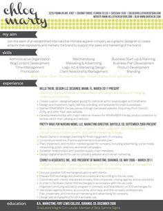 Curriculum Vitae Creativo  Cv    Resume Ideas And