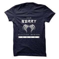 TEAM BERRY LIFETIME MEMBER LEGEND 2015 DESIGN T-SHIRTS, HOODIES, SWEATSHIRT (21.99$ ==► Shopping Now)