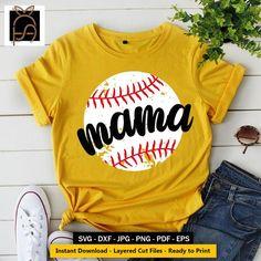 Baseball Sister, Baby Baseball, Baseball Mom Shirts Ideas, Baseball Shirt Designs, Sports Mom Shirts, Softball Mom Shirts, Baseball Tops, Softball Stuff, Sister Shirts
