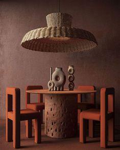 Terracotta Furniture CHRIS WOLSTON Mobiliario