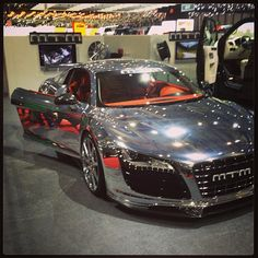 Chrome R8 with orange interior, not so keen on the orange...what do you think?