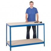 value chipboard workbench for use in your home garage or workshop, available in either 1400mm or 1800mm widths