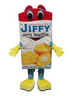 Jiffy corn muffin mix mascot