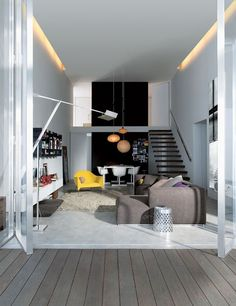 'My Life in 80m² is an ingenious residential living project meant to demonstrate that the size of a crib has little to do with the comfort and design quality it can provide.