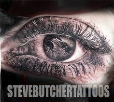 Steve Butcher, New Zealand tattoo