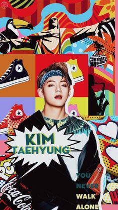 Cr to btslocks_ Jhope, Jimin, Kim Taehyung, Bts Bangtan Boy, K Pop, Walk Alone, K Wallpaper, Fan Art, Bts Lockscreen