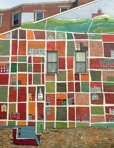 Pendleton Neighborhood Mural by David & Barbara Day, Cincinnati