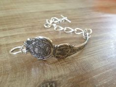 California State Silver Souvenir Spoon Bracelet by GeorginaBaker, $36.00