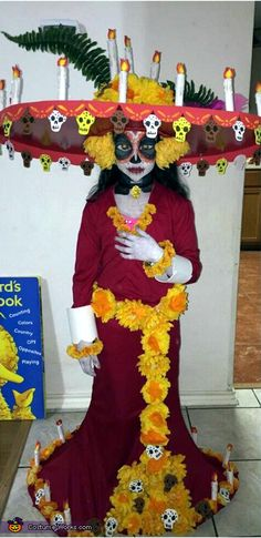 Creative Costume Ideas for Girls - The Book of Life La Muerte Costume
