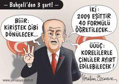 Siyasi Karikatürler: Devlet Bahçeli