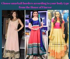 Anarkali suits seem to be everyone's favourite for the festive and wedding season. While you can opt for embroidery, lace and other adornment to enhance your anarkali suits, borders are the latest and most enhancing trend. Borders add an interesting twist to your anarkali outfit.   Shop online at http://www.finesse.in/ for embroidery borders or visit our shop at #TNagar & #Purasaiwalkam - #Chennai  #Finesse Laces