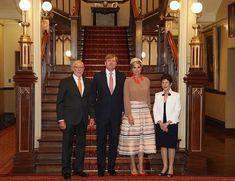 Día 4 - Rey Willem-Alexander y la Reina Maxima Estado Visitas al consultorio Australia