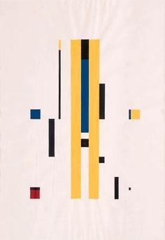 Richard Paul Lohse, Elemente zu 10 gleichen Themen, 1950