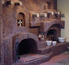 The Kiva Fireplace... Steppin' Up & Out, Southwest Style! The Kiva ...