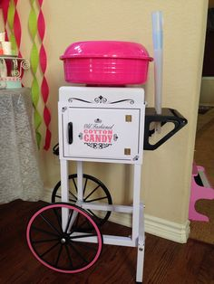 Cotton candy machine ( purchased at big lots)