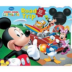 Disney Mickey Mouse Clubhouse Road Trip Book | Disney StoreMickey Mouse Clubhouse Road Trip Book - Join Mickey Mouse and his pals on a road trip adventure to the beach. When Mickey can't fit around a horse who won't get out of the road, it will hopefully be a Mouseketool to the rescue!
