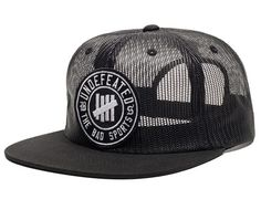 Bad Sports Mesh Snapback Cap by UNDEFEATED
