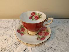 Vintage 1950's Royal Standard bone china tea cup by HuntWithJoy