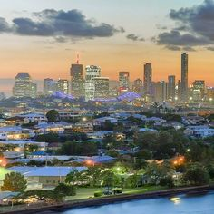 What a view! Thanks for showing us what Brisbane looks like from the 10th floor @portsidewharf #brisbaneanyday