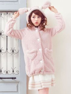 dreamv | Rakuten Global Market: -Reservation-[heart Pocket tail with a rabbit or bear ears boatunickparker | SW | DM | |] ◆ 12 / 29 delivery appointment