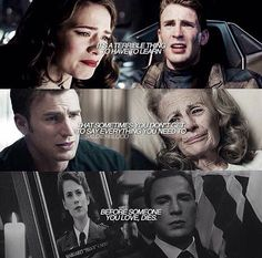 Steve and Peggy, now what about Steve and nat? Marvel Quotes, Marvel Memes, Marvel Avengers, Captain America Peggy Carter, Stucky, And Peggy, Marvel Funny, Steve Rogers, Marvel Cinematic Universe