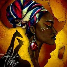ideas black art painting woman africa - ideas black art painting woman africa The Effective Pictures We Offer You About Beauty and the - African Drawings, African Art Paintings, African Artwork, Black Art Painting, Black Artwork, Afro Painting, Black Love Art, Black Girl Art, Afrika Tattoos