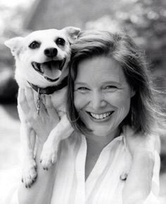 One of my favourite authors - Ann Patchett and Rose