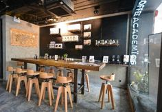 Attention coffee lovers, Hong Kong's leader in coffee culture The Coffee Academïcs has opened a new store in Wanchai, bringing with it a new machine, a new brew and a fantastic cupping room.