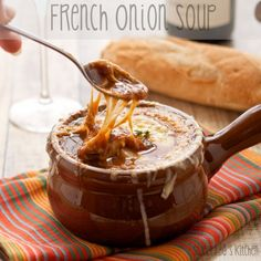 French Onion Soup {Sweet Pea's Kitchen}