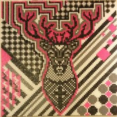 Deer hama perler art by marias_univers