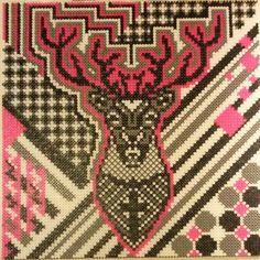 Deer hama perler art by marias_univers