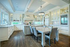 Kitchen Islands With Tables Design Ideas, Pictures, Remodel, and Decor - page 3