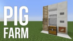 Minecraft Redstone Farms - Lovely Minecraft Redstone Farms , Minecraft How to Build A Me Val Farm Part 1 3 Minecraft Redstone, Pig Farming, Minecraft Buildings, Farms, Company Logo, Ideas, Homesteads, Thoughts