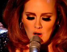 Adele  LASHES!