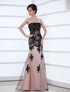 Elegante vestido Floral laço líquido sem alças femininas de rosa